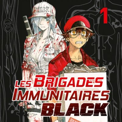 Les Brigades Immunitaires Black T1