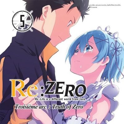 Re Zero 3ème arc T5 (31/05/19)