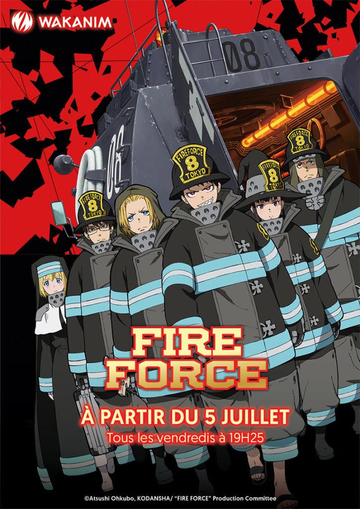 Fire Force-Wakanim