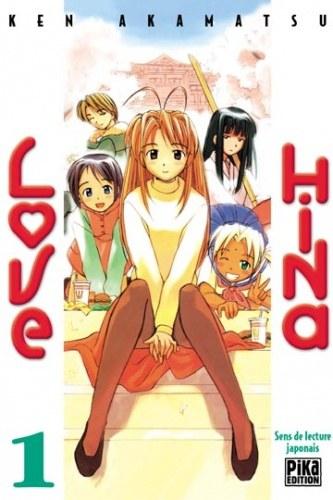 Love Hina-mangas