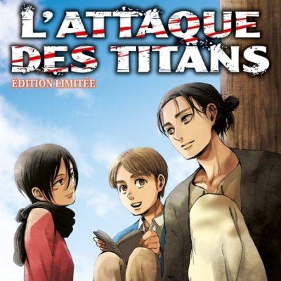 L'Attaque des Titans T28 Edition limitée (04/09/19)