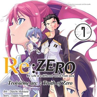 Re:Zero T7 3ème arc (27/09/19)