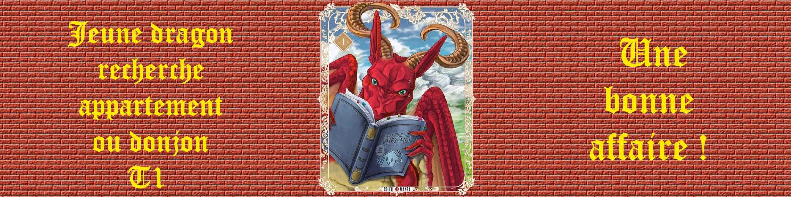 Jeune dragon recherche appartement ou donjon-Vol.-1