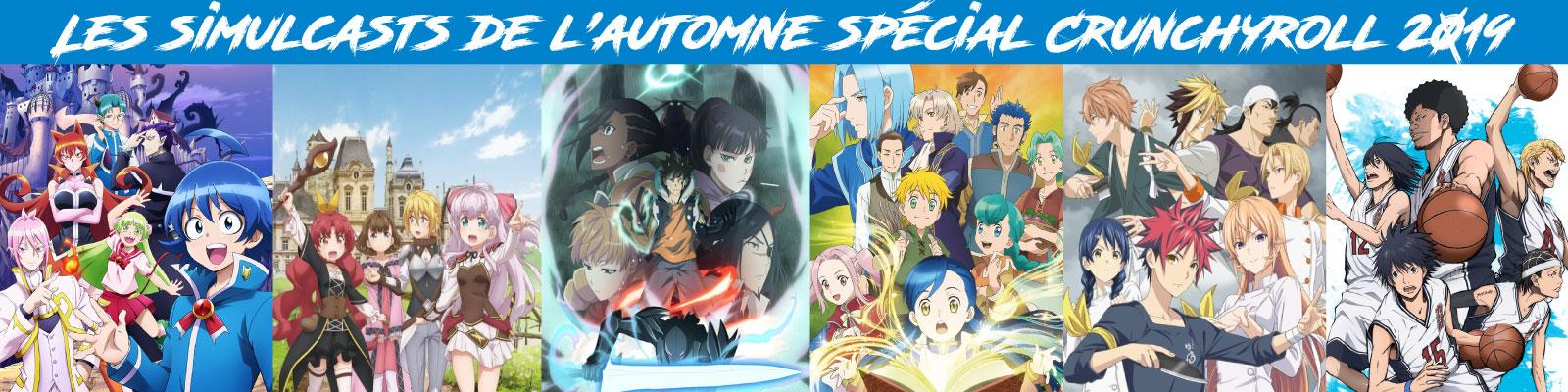 Les-simulcasts-automne-crunchyroll-2019