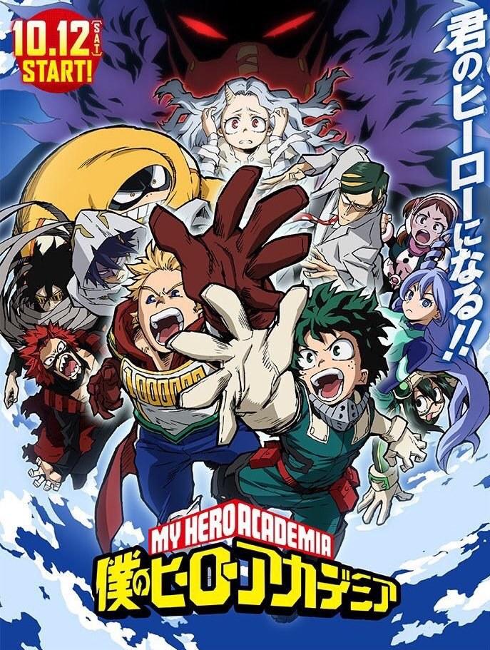 Boku no Hero Academia 4 - sélection anime 2019