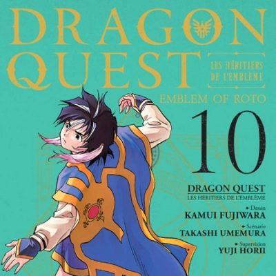 Dragon Quest - Les Héritiers de l'Emblème T10 (05/12/19)