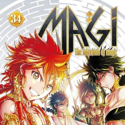 Magi - The Labyrinth of Magic T34 (05/12/19)