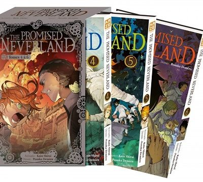 The Promised Neverland Pack Découverte - T4 à 6 (27/11/19)