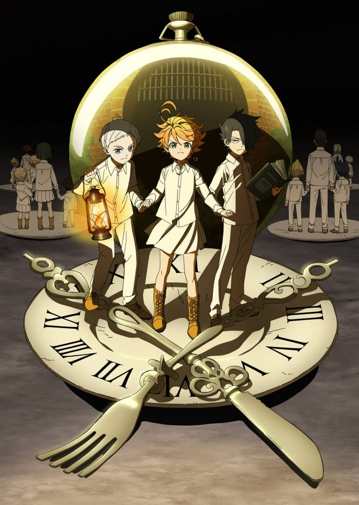 The Promised Neverland - sélection anime 2019