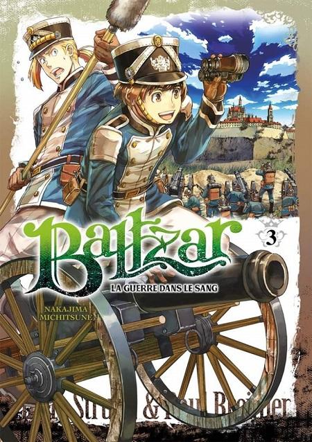 Baltzar - La guerre dans le sang Vol. 3-Meian