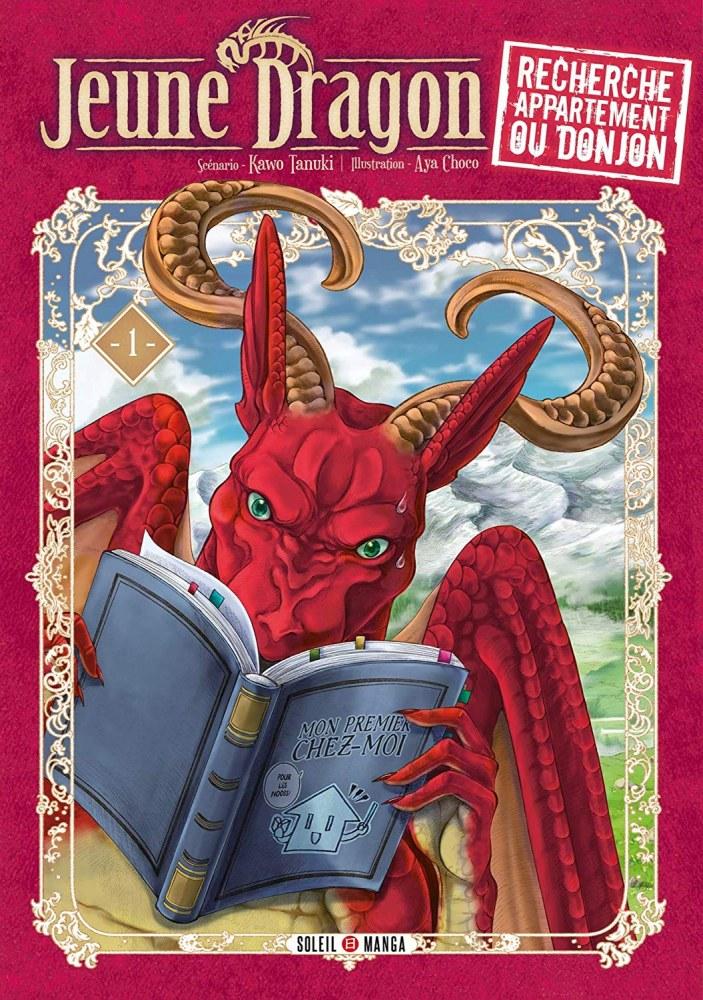 Jeune dragon recherche appartement ou donjon-sélection manga 2019