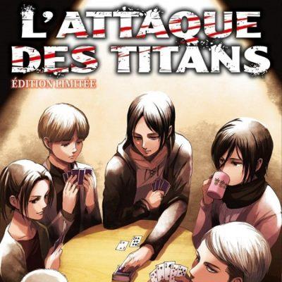 L'Attaque des Titans T29 Edition limitée (11/12/19)