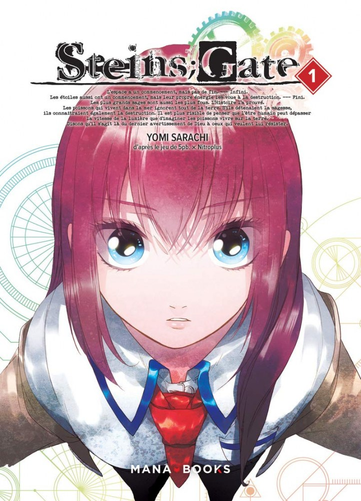 Steins;Gate-Mana Books