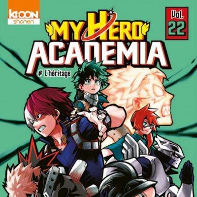 My Hero Academia T22