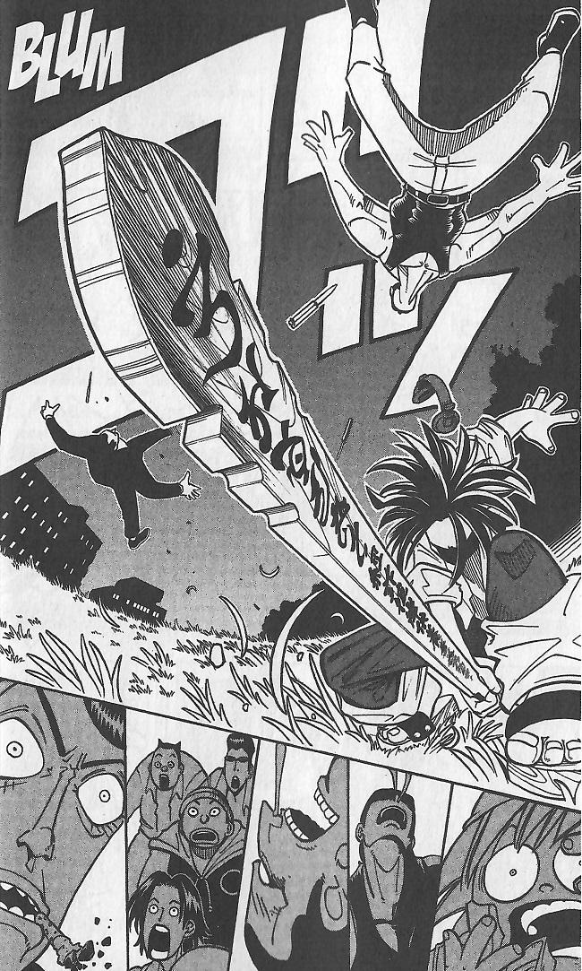 Shaman King-combat