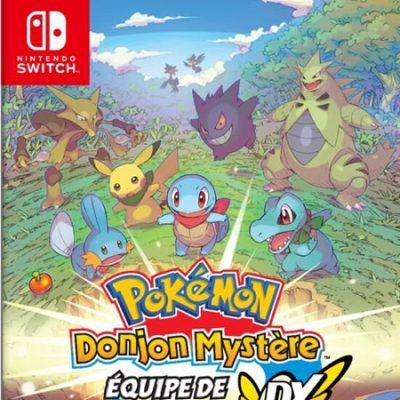 Pokémon Donjon Mystère équipe de secours DX
