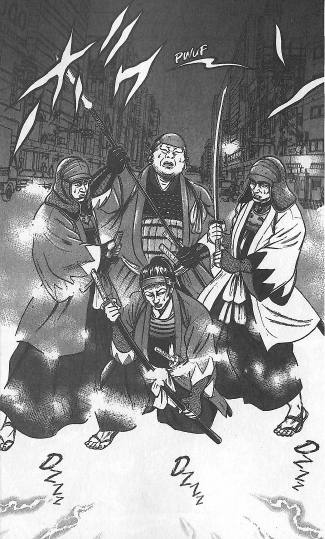 Samurai Comeback-voyage