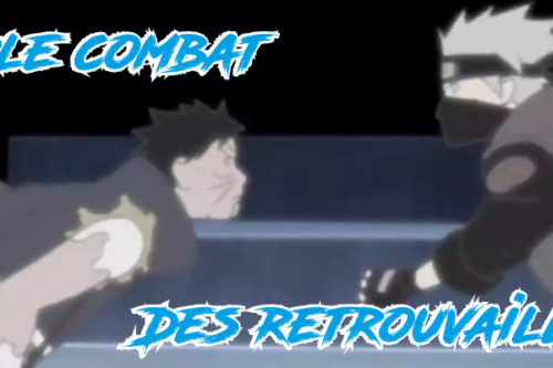 Kakashi vs Obito-combat
