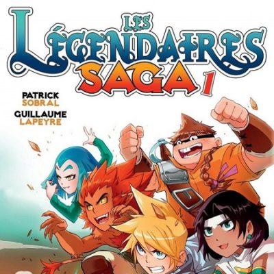Les Légendaires Saga T1 (18/03/2020)