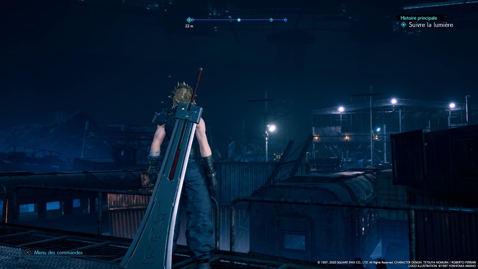 Final Fantasy VII Remake-Cimetière des trains