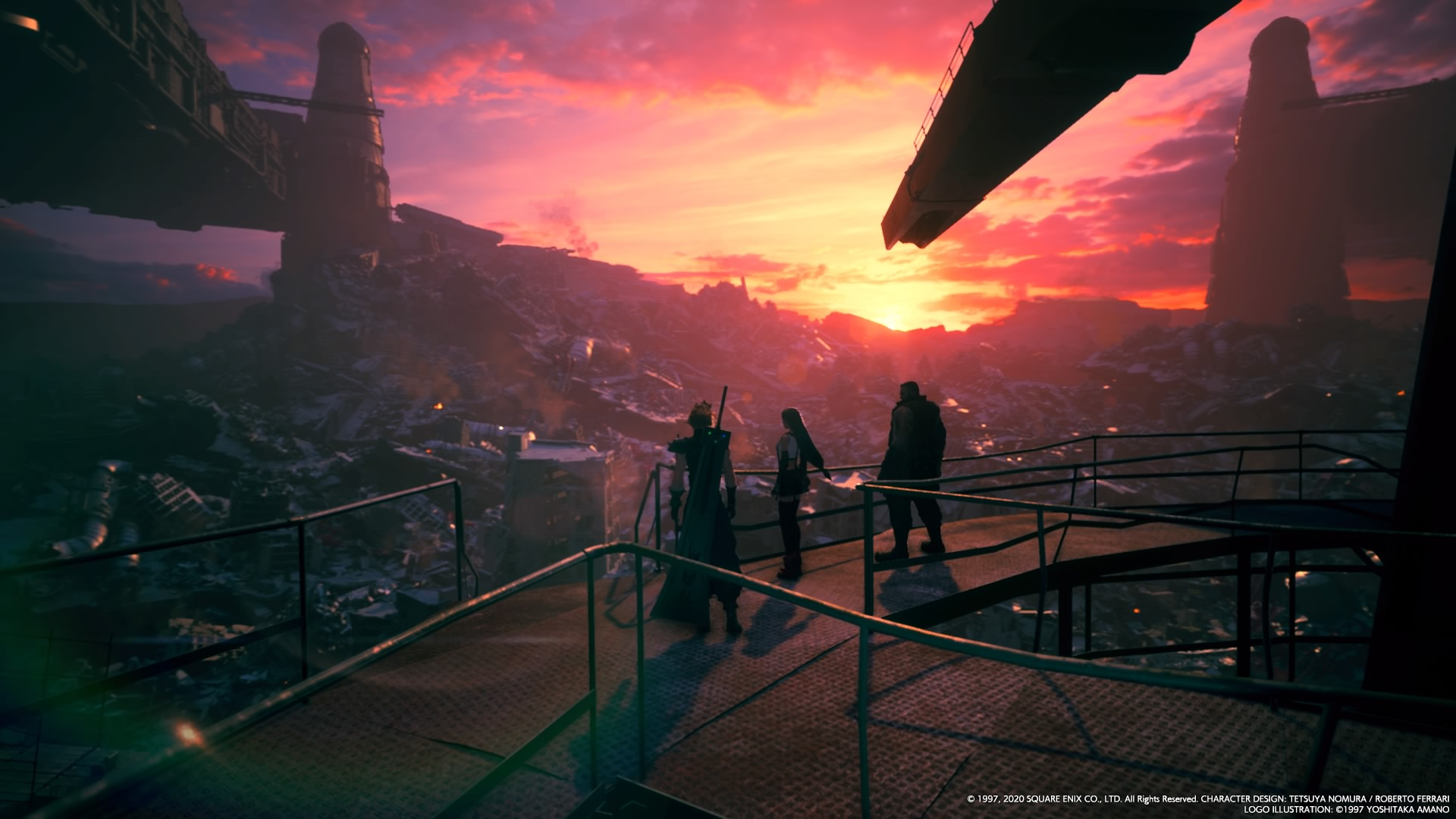 Final Fantasy VII Remake-désastre