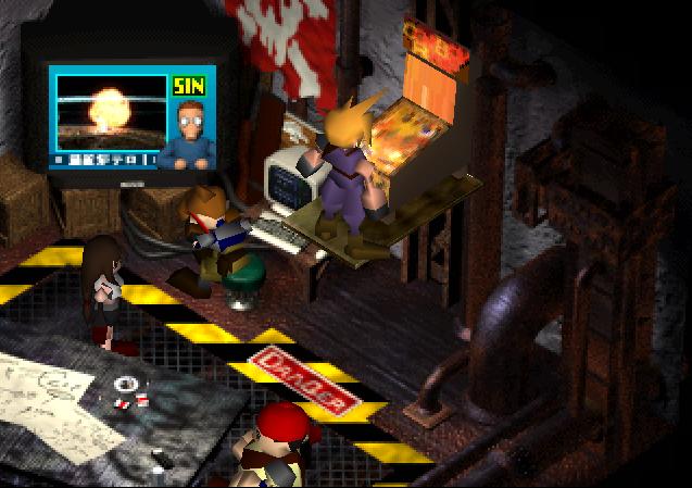 Final Fantasy VII Remake-Secteur 7