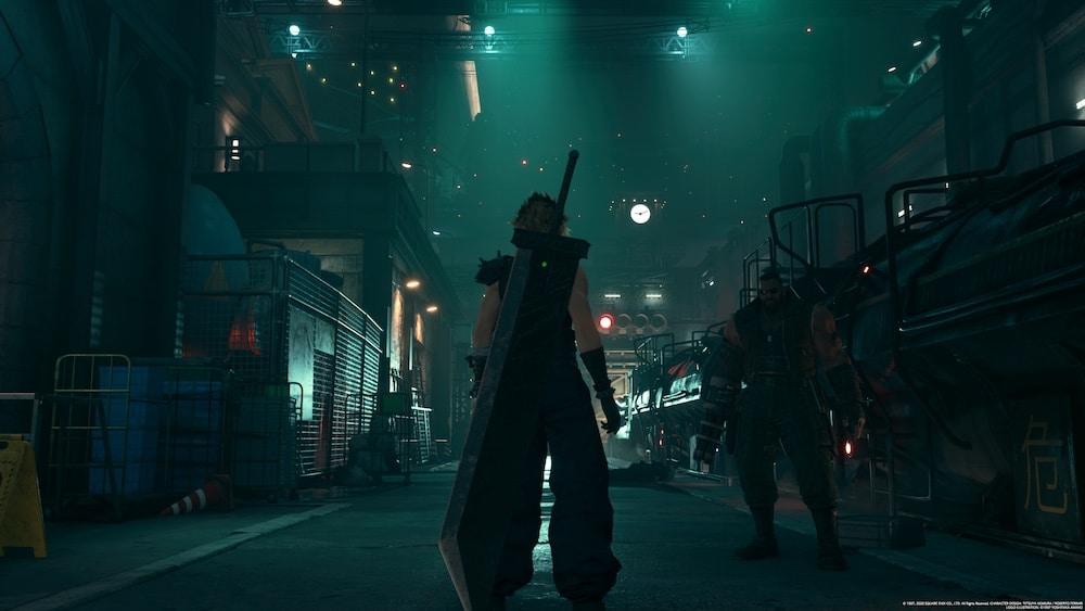 Final Fantasy VII Remake-début