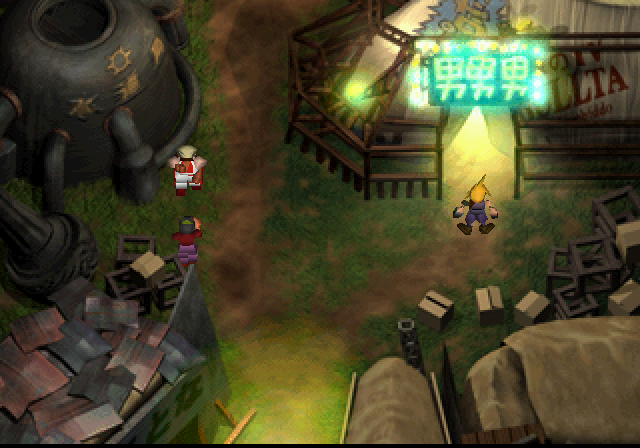 Final Fantasy VII - Wall Market