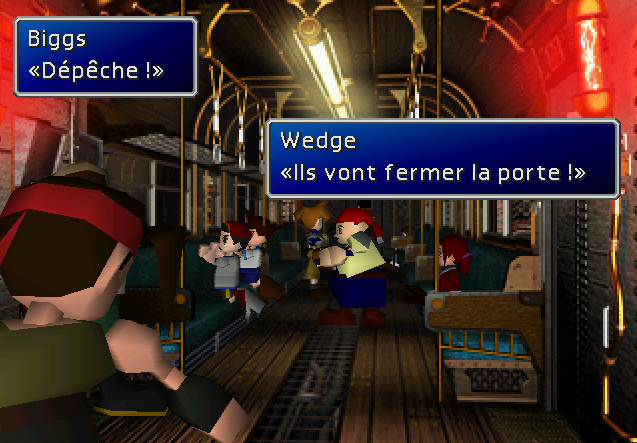 Final Fantasy VII-train