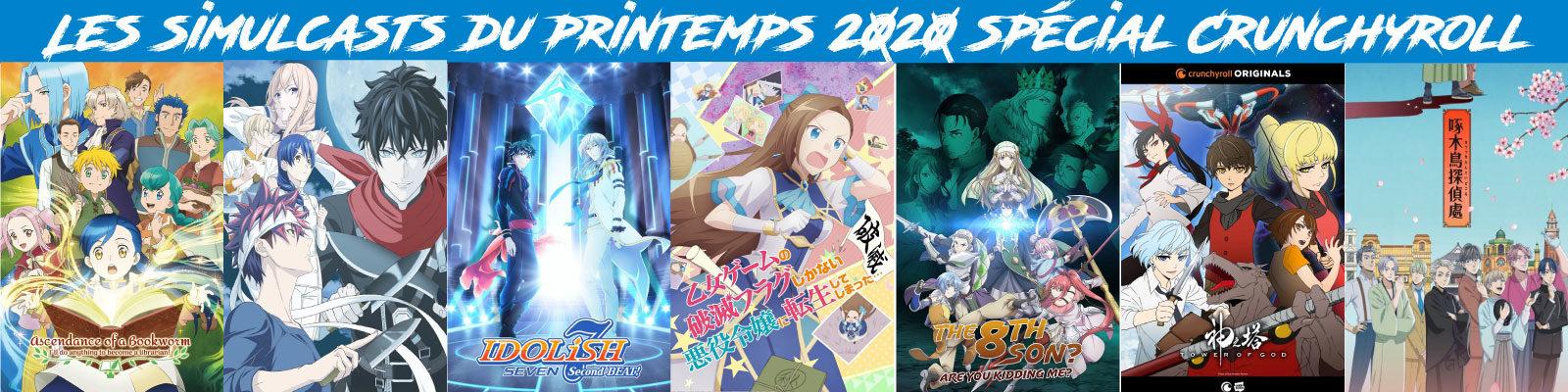 Les-simulcasts-du-printemps-2020-spécial-crunchyroll
