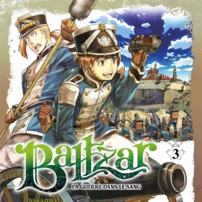 Baltzar - La guerre dans le sang T3