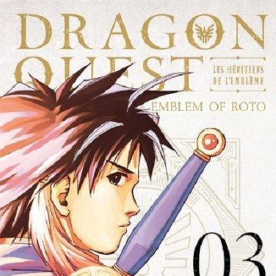 Dragon Quest - Les Héritiers de l'Emblème T3