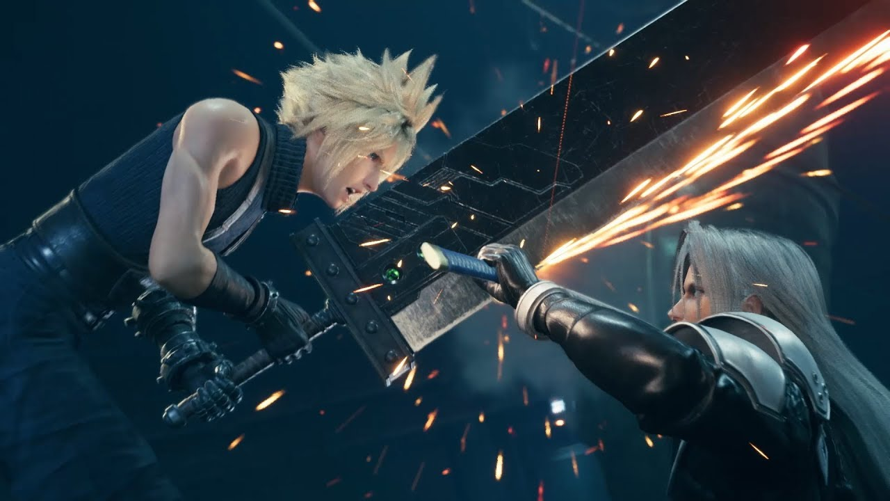 Final Fantasy VII Remake combat