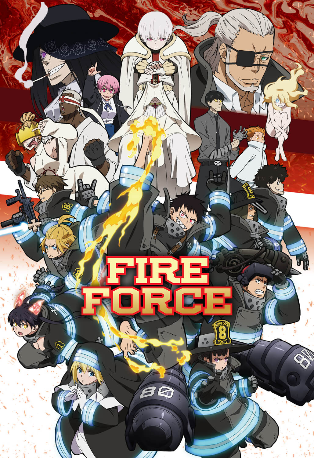 Fire Force - ADN