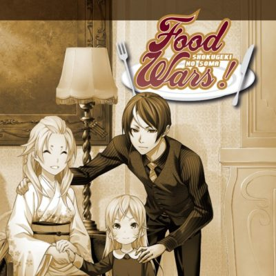 Food Wars T35 (01/07/2020)