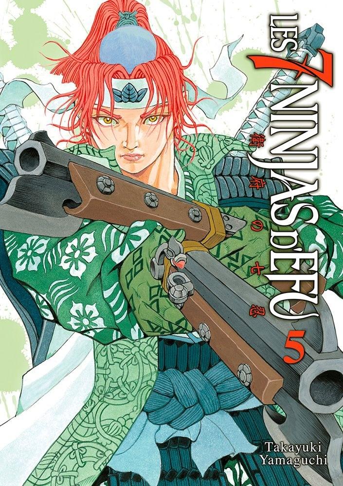 Les 7 Ninjas d'Efu Vol. 5