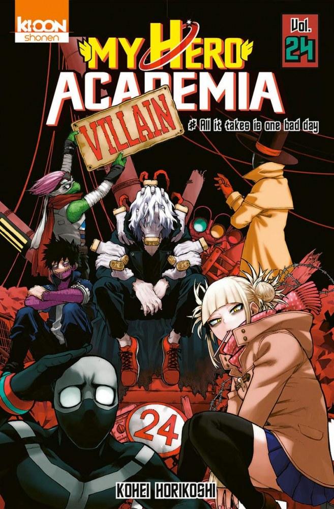 My Hero Academia Vol. 24