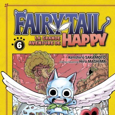 Fairy Tail - La grande aventure de Happy T6 (19/08/2020)