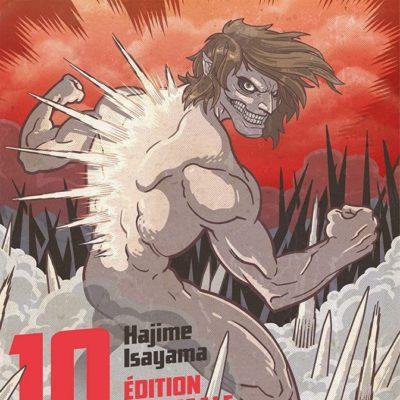 L'Attaque des Titans T10 Edition colossale (19/08/2020)