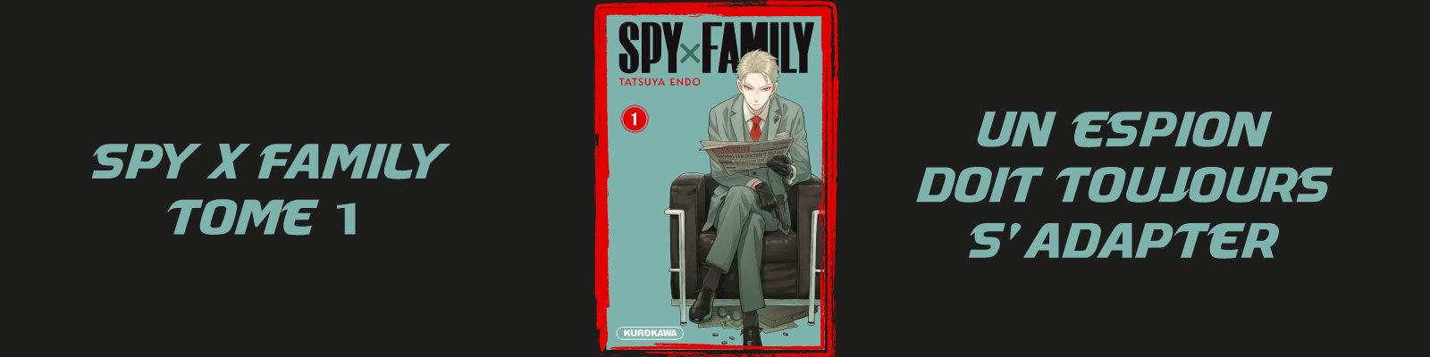 SPY × FAMILY-Vol.-1