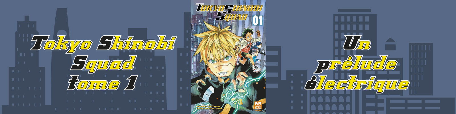 Tokyo Shinobi Squad-Vol.-1