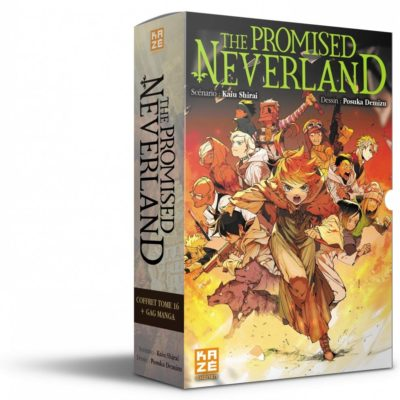 The Promised Neverland coffret T16 + Gag Manga (07/10/2020)