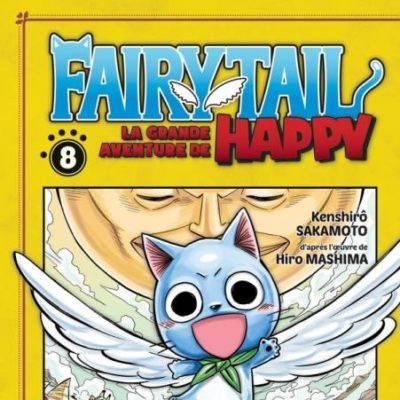 Fairy Tail - La grande aventure de Happy T8 FIN (25/11/2020)