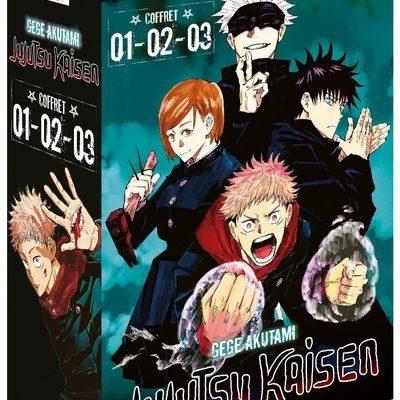 Jujutsu Kaisen - Coffret Vol. 1 à 3 (05/11/2020)