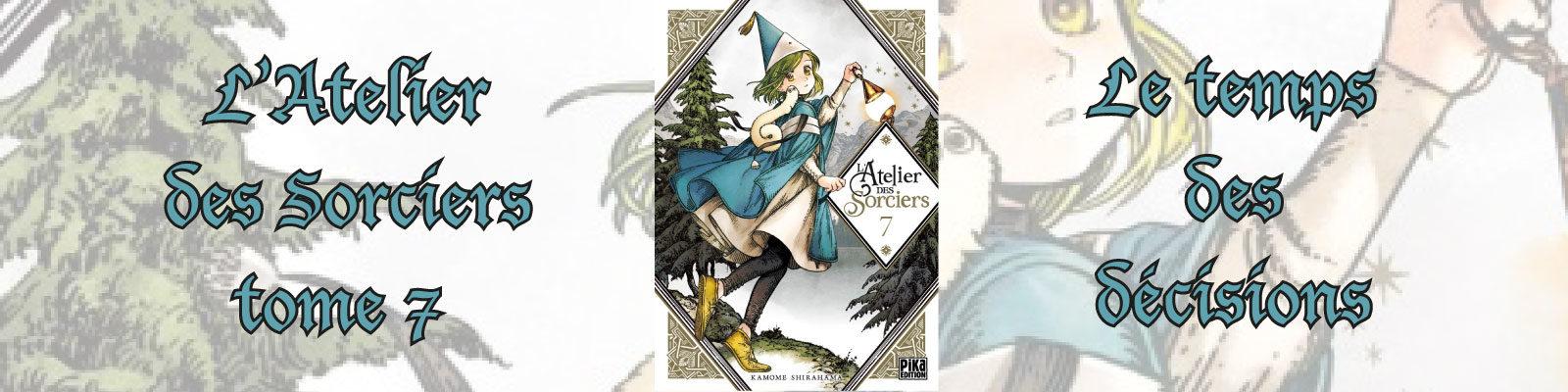 L'Atelier des Sorciers-Vol.-7