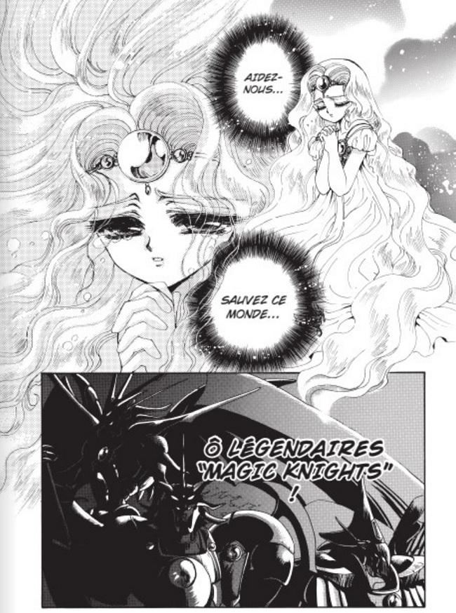 Magic Knight Rayearth - appel