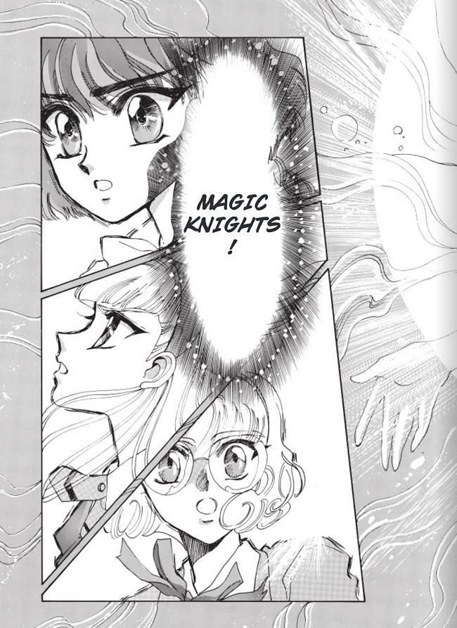Magic Knight Rayearth - élues