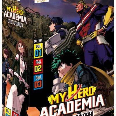 My Hero Academia - Coffret Vol. 1 à 3 [Édition 2020] (05/11/2020)