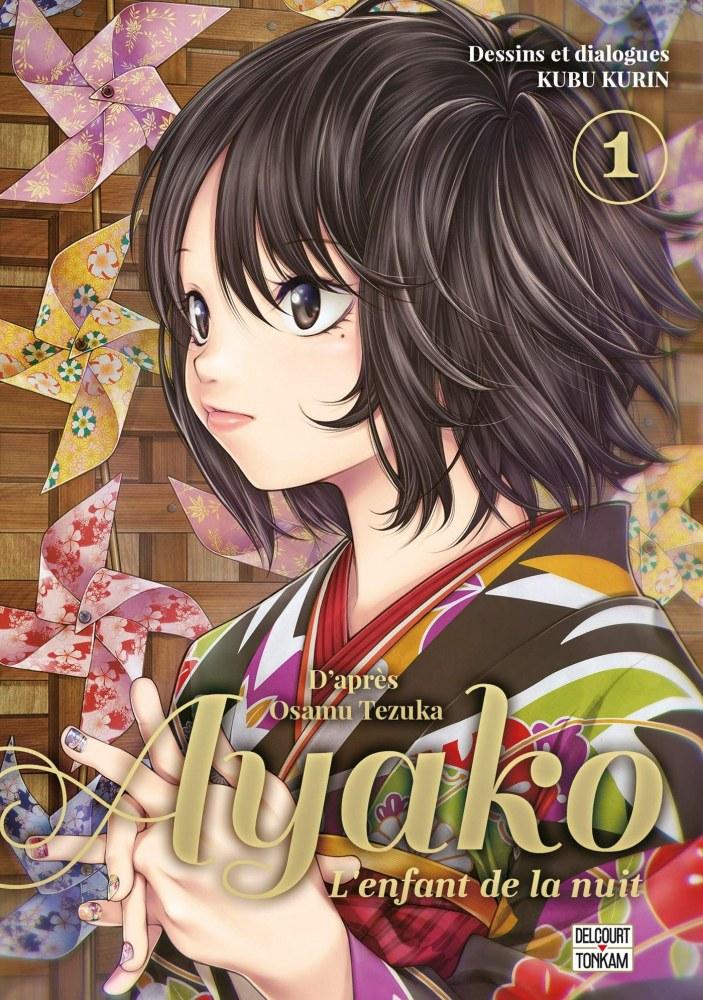 Ayako, l'enfant de la nuit-delcourt tonkam