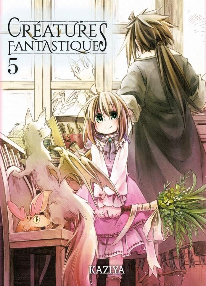Créatures Fantastiques Vol. 5-Komikku